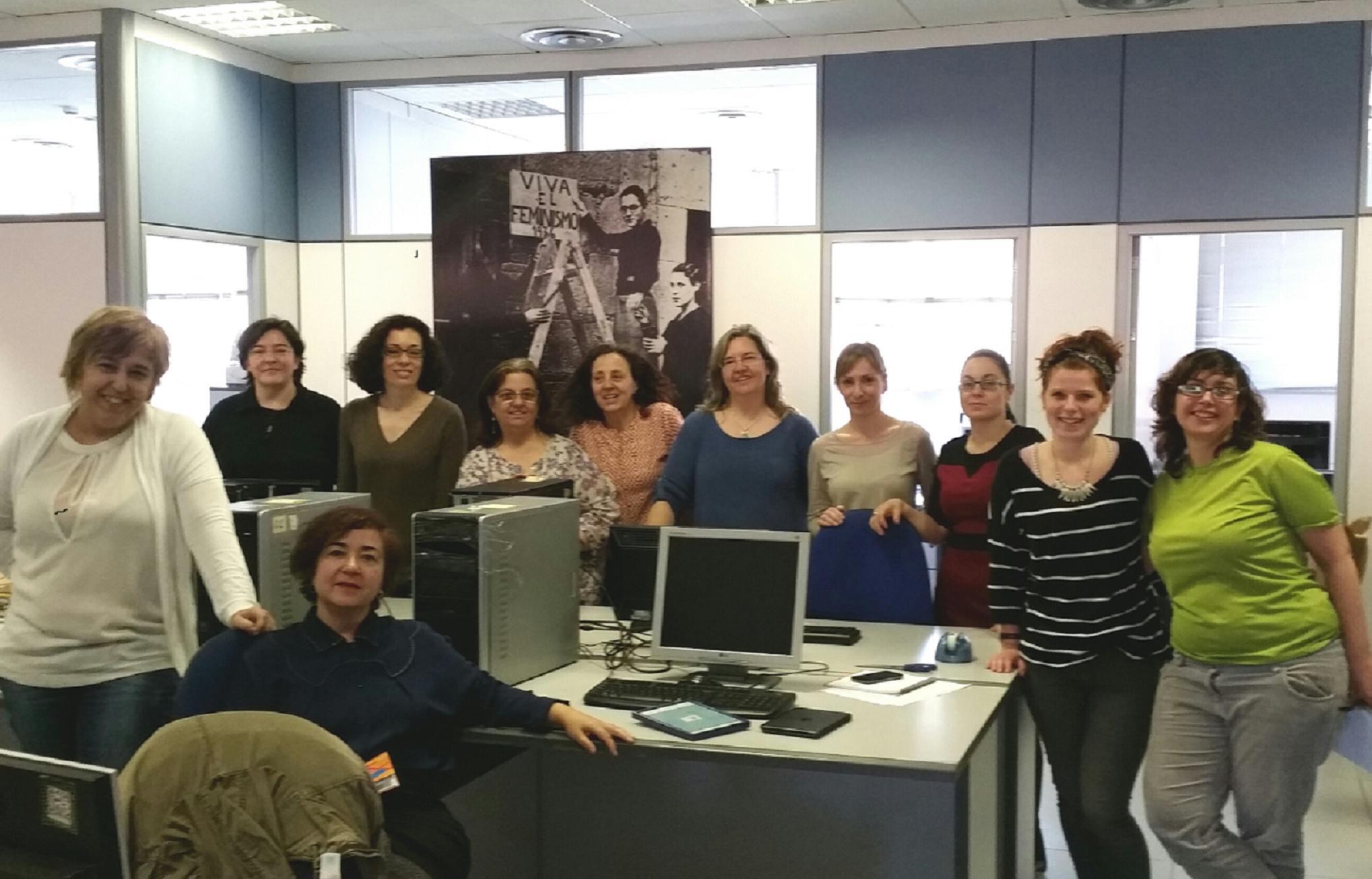 Fundaci n mujeres nueva ubicaci n de las oficinas de for Ubicacion de las oficinas